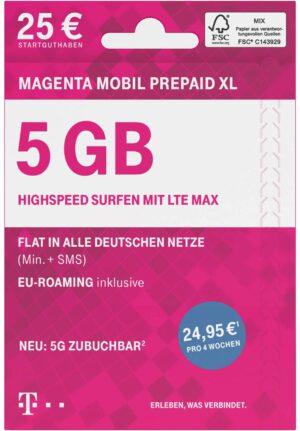Telekom MagentaMobil Prepaid XL